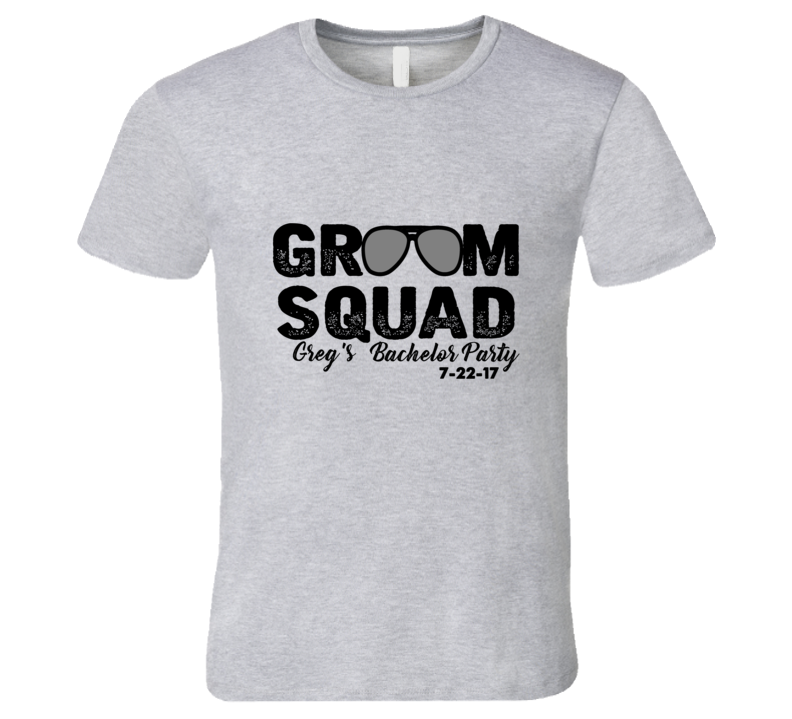 Groom Squad T Shirt
