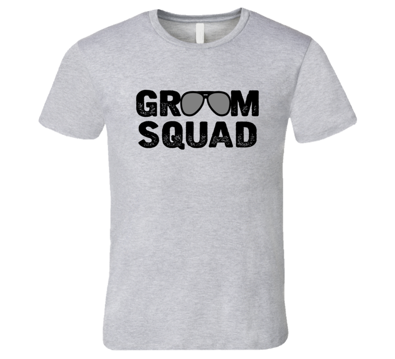 Groom Squad Bachelor Party T Shirt