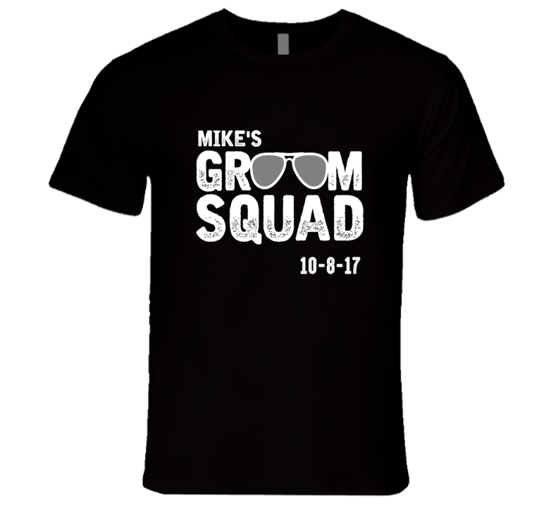 Mike's Groom Squad T Shirt