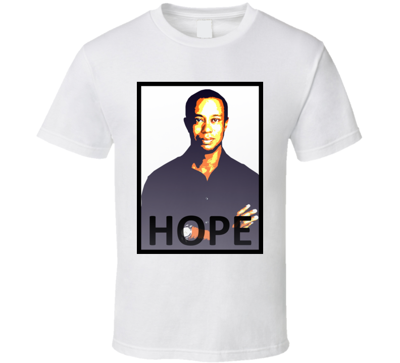 Tiger Woods Come Back Hope T Shirt