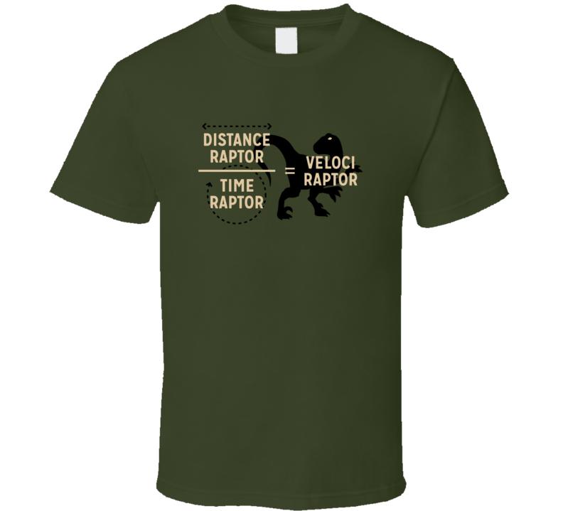 Calculus Raptor Velociraptor A.pig.in.shirt T Shirt