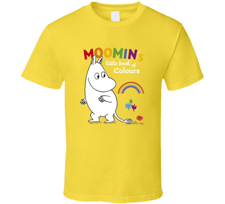 Moomins Little Book Colours A Pig In Shirt