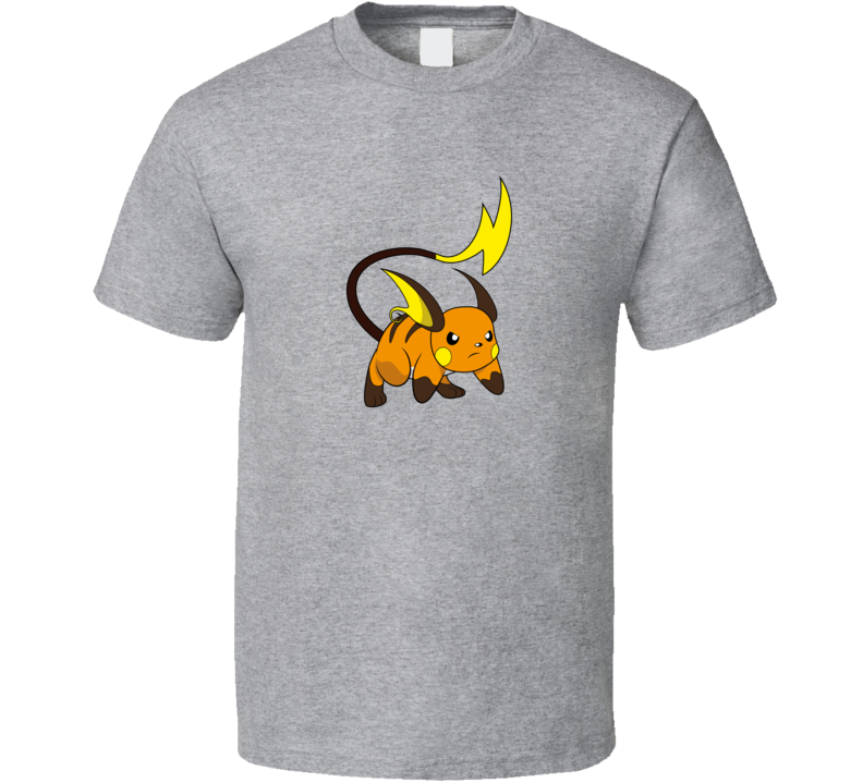 Raichu Pokemon Video Game A Pig In Shirt