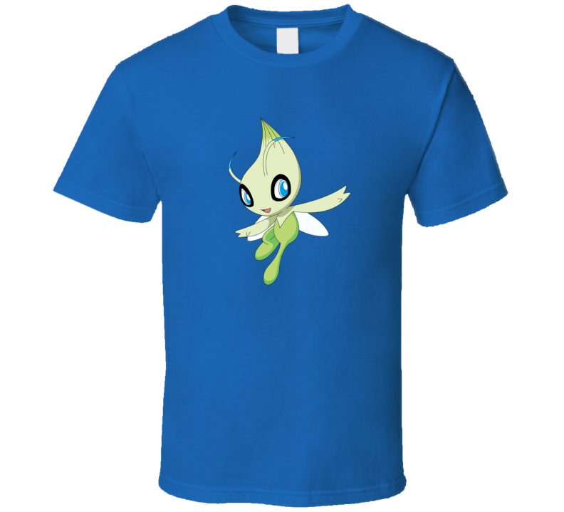 Celebi Pokemon Video Game A Pig In Shirt