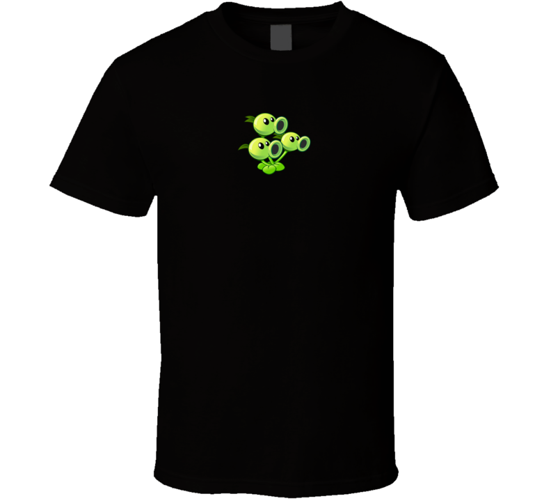 Threepeater Plants Vs Zombies Video Game Pig In Shirt