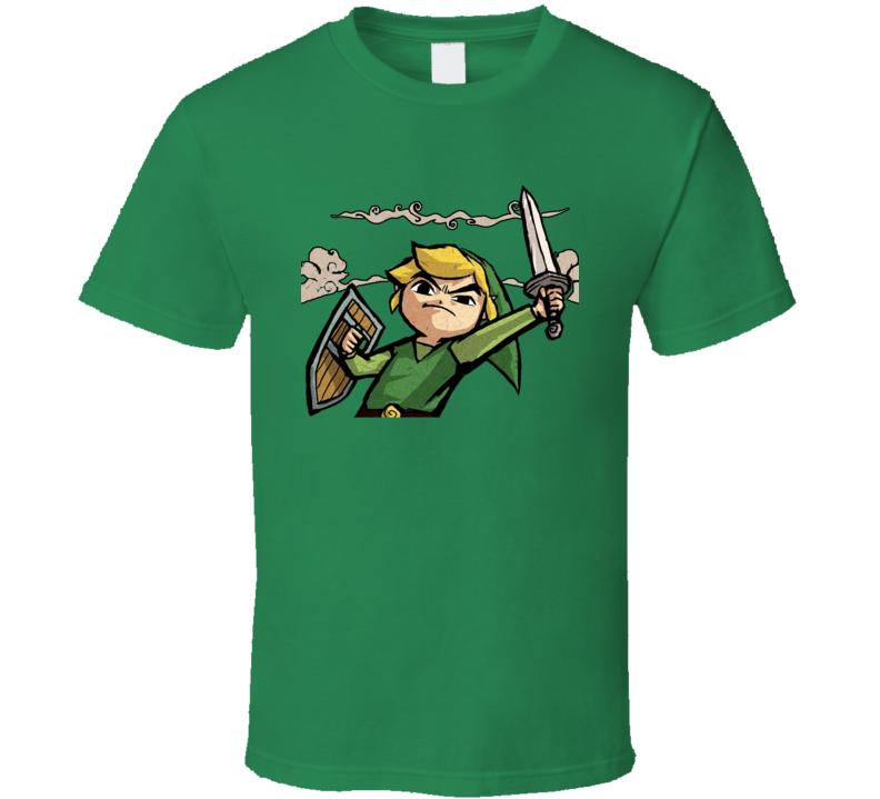 Link Wind Waker Zelda Video Game Pig In Shirt