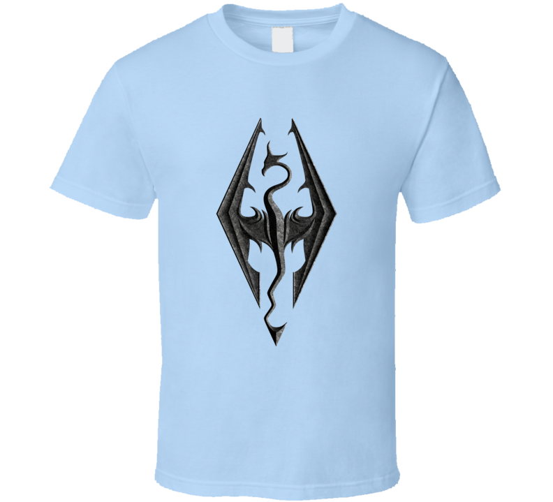 Skyrim Dragon Video Game Pig In Shirt