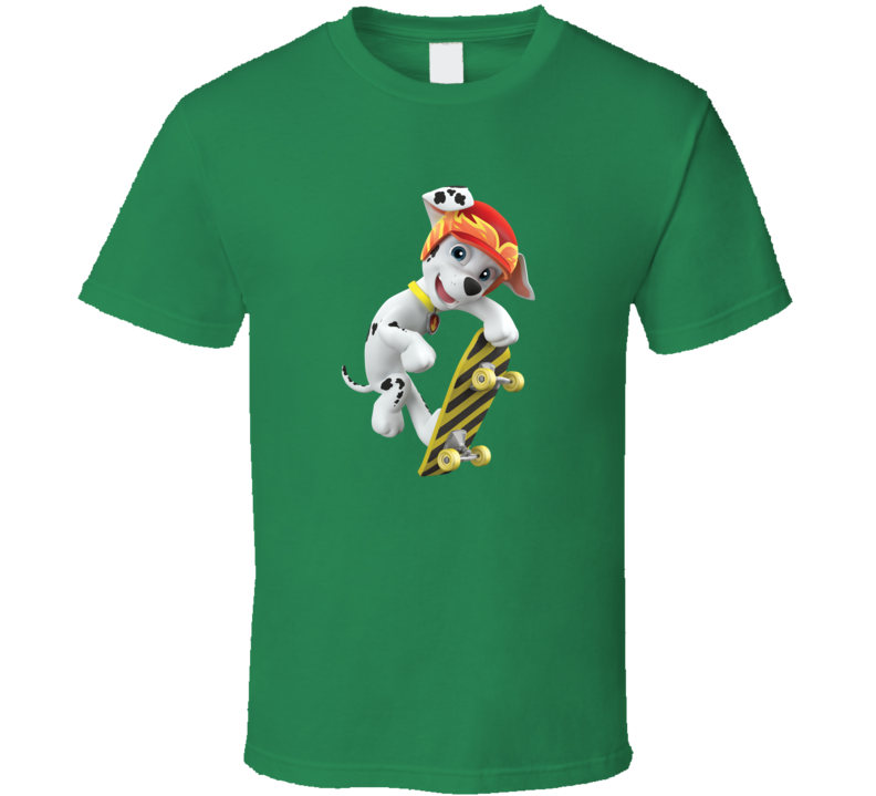 Marshall Skateboard Paw Patrol Tv A Pig In Shirt