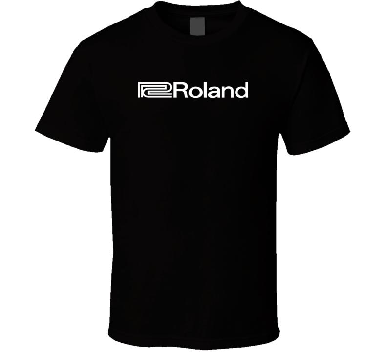 Roland Music T Shirt 1