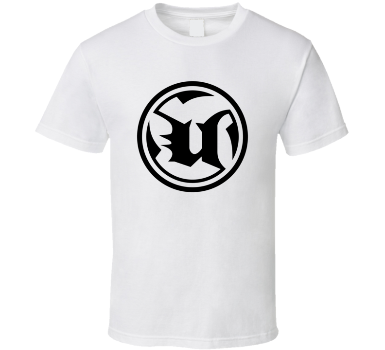 Unreal Tournament Circle Logo Games Pig In Shirt