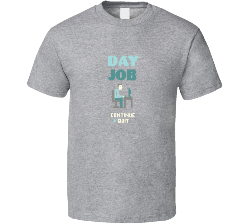 Quit Your Bad Day Job Retro Funny Pig In Shirt