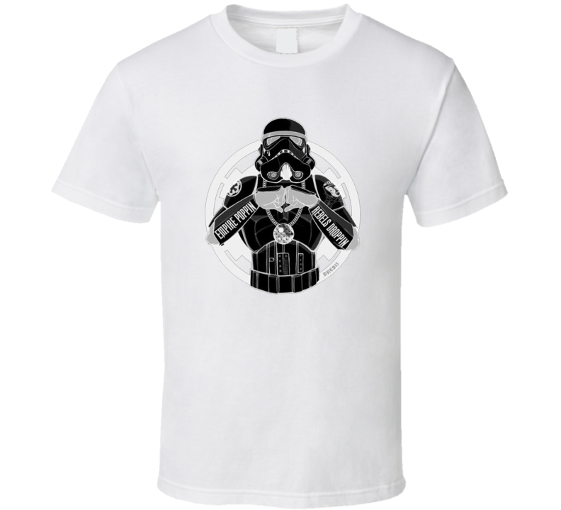 Storm Trooper Thug Life Funny Dark Pig In Shirt