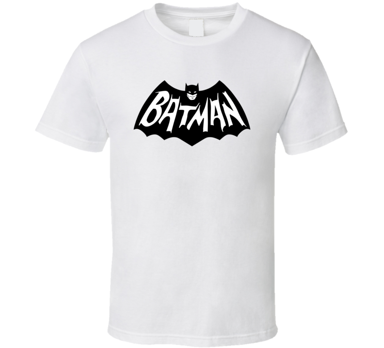 Batman Symbol Retro Pig In Shirt 1 Blk