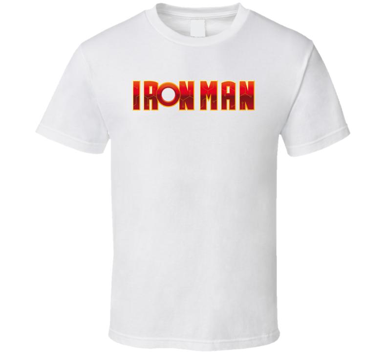 Iron Man Logo Comic Pig In Shirt