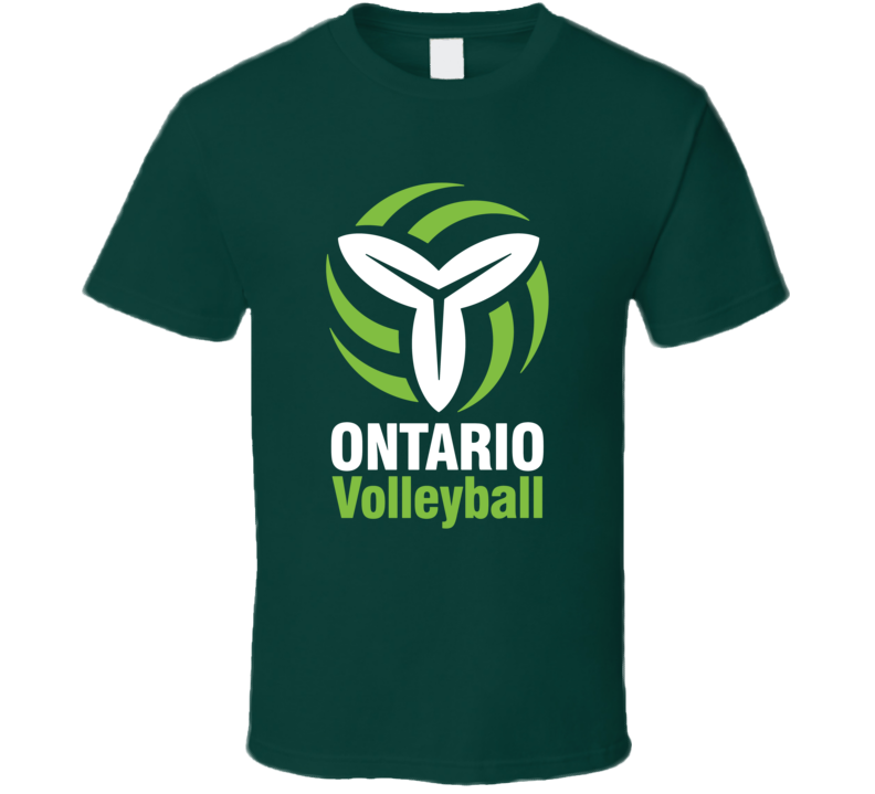 Ontario Volleyball Association Sports Pig In Shirt