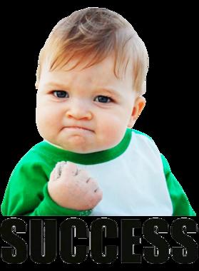 Success Kid Funny Popular Internet Meme Baby T Shirt