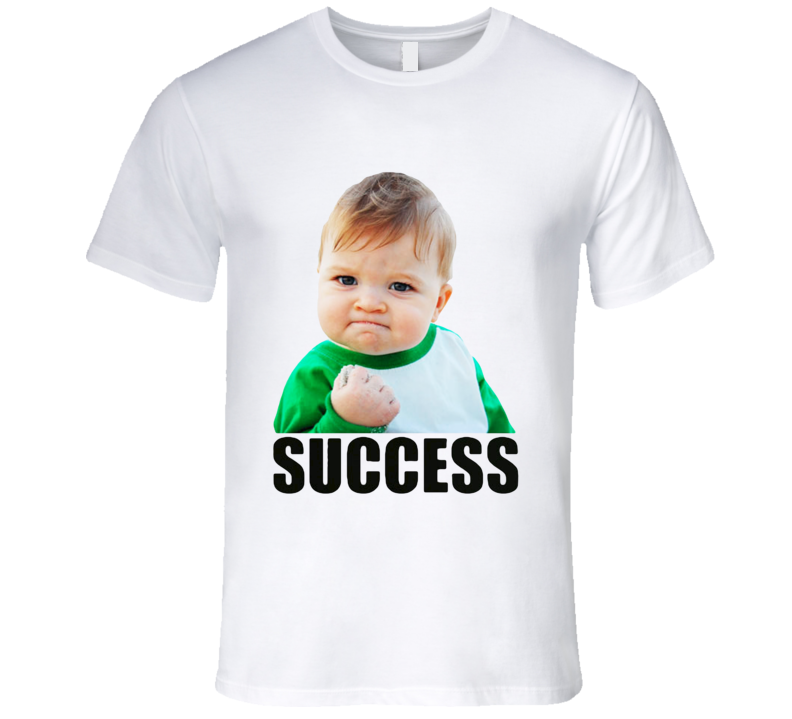 Success Kid Funny Popular Internet Meme Baby T Shirt