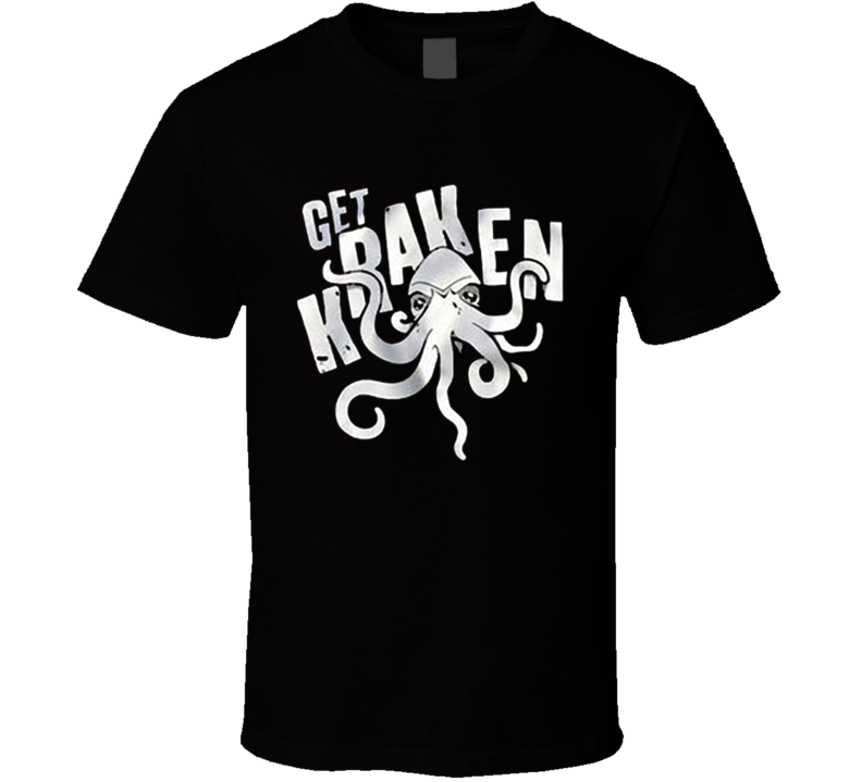 Get Kraken Cthulhu Sea Monster Geek Nerd Literature Lovecraft Graphic T Shirt