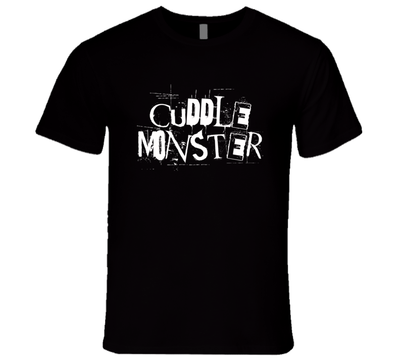 Cuddle Monster Fun Grunge Graphic T Shirt