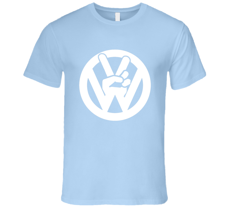 VW Peace Sign Fun Volkswagen Car T Shirt