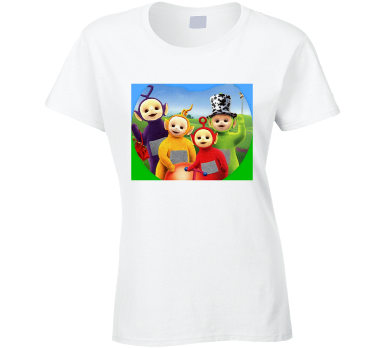 Teletubbies Fun Vintage Cartoon TV Show Graphic T Shirt