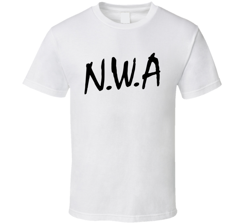 NWA Straight Outa Compton Hip Hop Rap Music Graphic T Shirt
