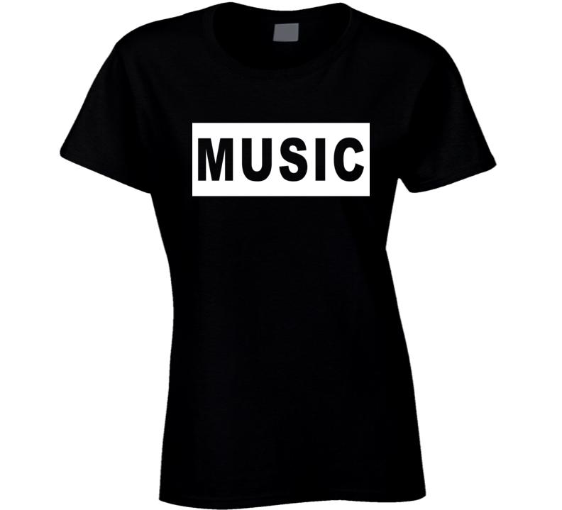 Music Popular Graphic Cut Out T Shirt