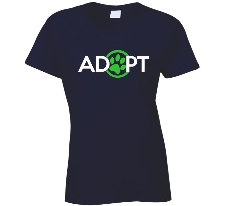 Adopt Fun Dog Cat Lover Kate Upton Rescue T Shirt
