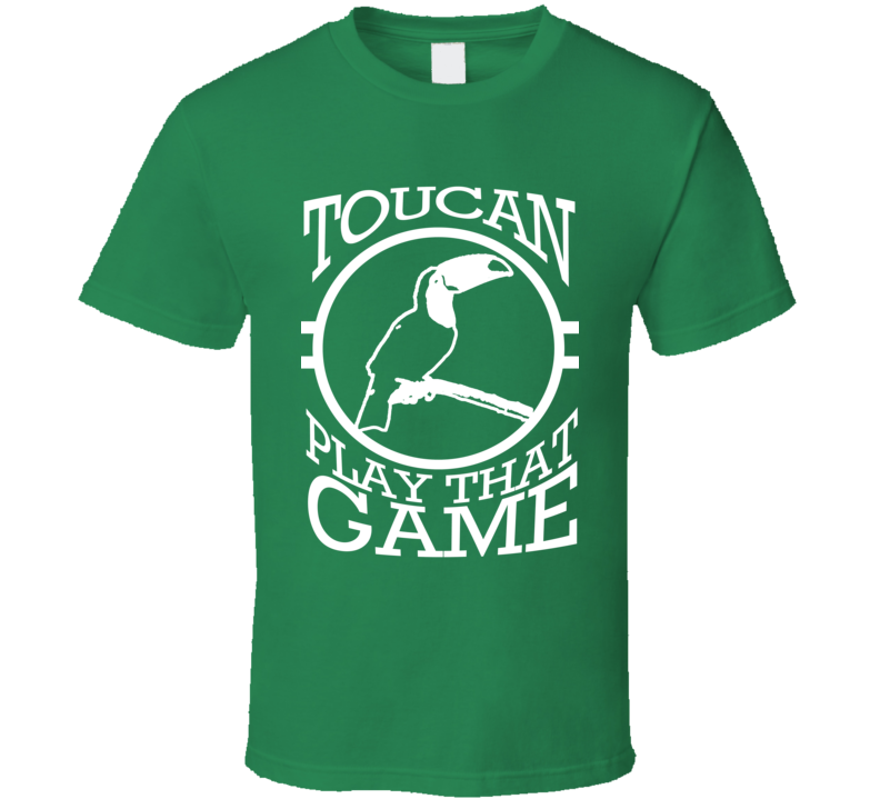 Toucan Two Can Play That Game Funny Pun Graphic Tee Shirt