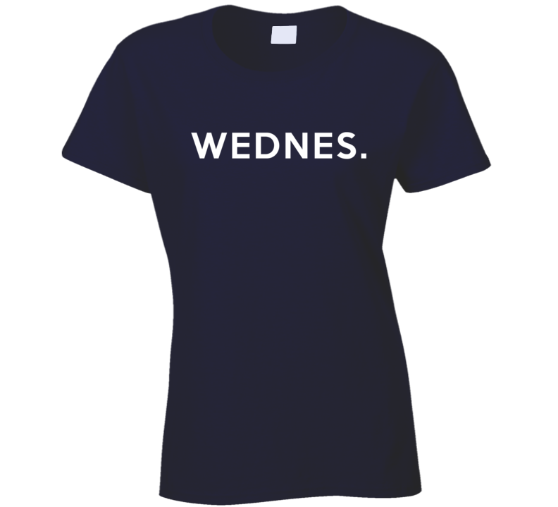 Wednesday Fun Short Form Days Of The Week Popular Graphic T Shirt
