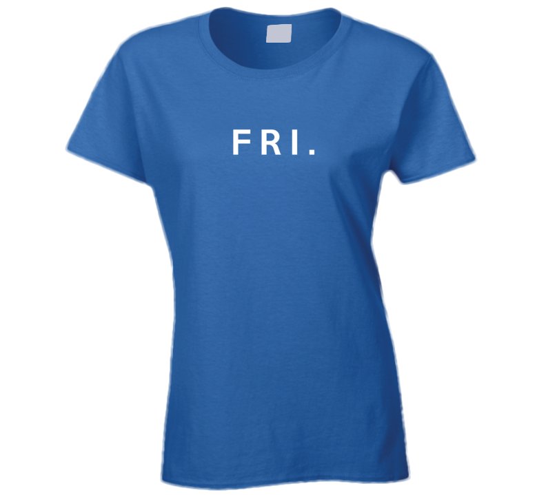 Friday Fun Short Form Days Of The Week Popular Graphic T Shirt