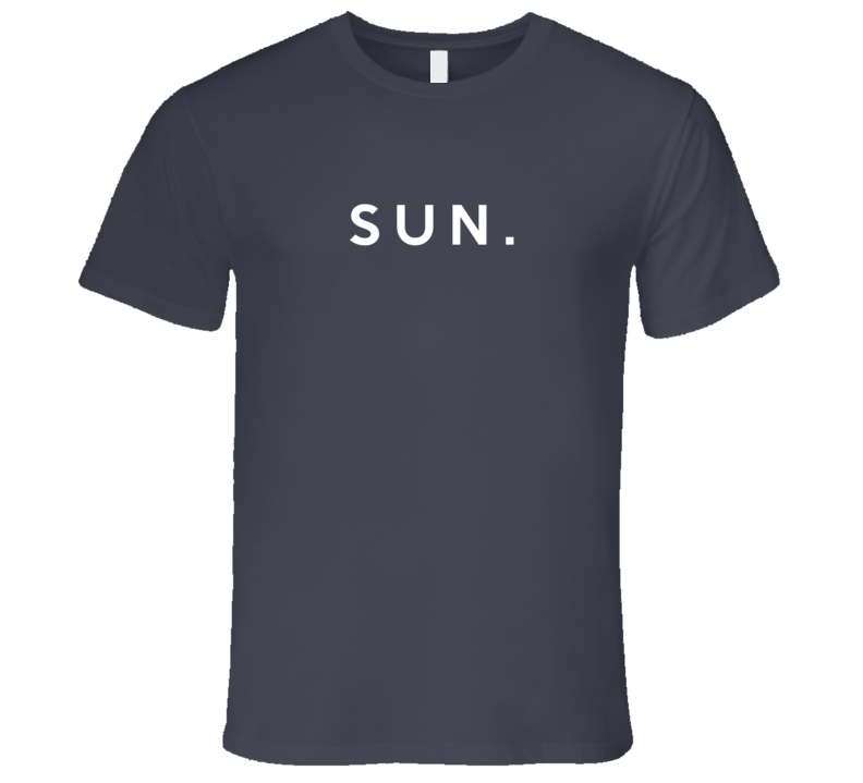 Sunday Fun Short Form Days Of The Week Popular Graphic T Shirt