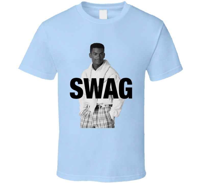 Swag Alfonso Ribeiro As Carlton Banks Funny Fresh Prince Of Bel Air Graphic T Shirt
