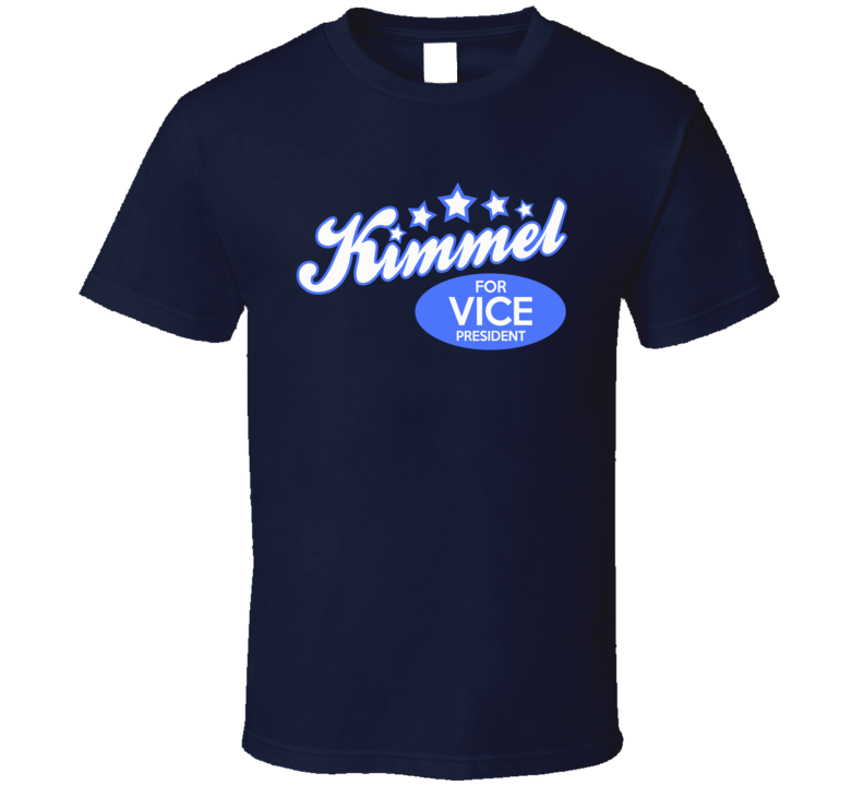 Kimmel For Vice President Fun Jimmy Kimmel Political Graphic T Shirt