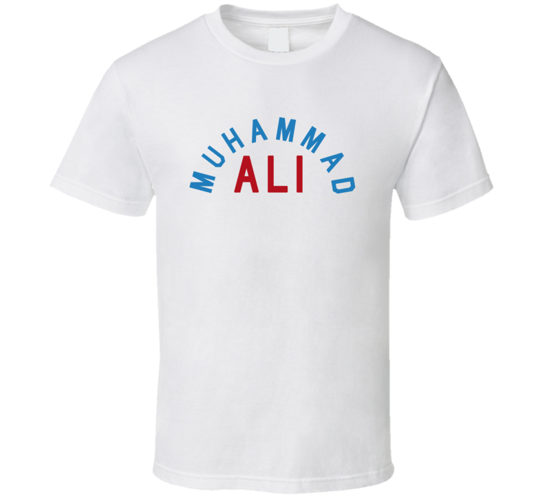 Muhammad Ali Legendary Boxer Heavyweight Champion Anthony Joshua Graphic Sports Fan T Shirt