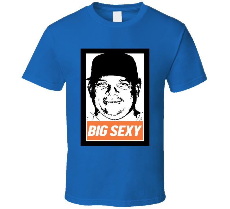 Big Sexy Bartolo Colon Funny Noah Syndergaard Family Instagram New York Graphic Baseball Fan T Shirt