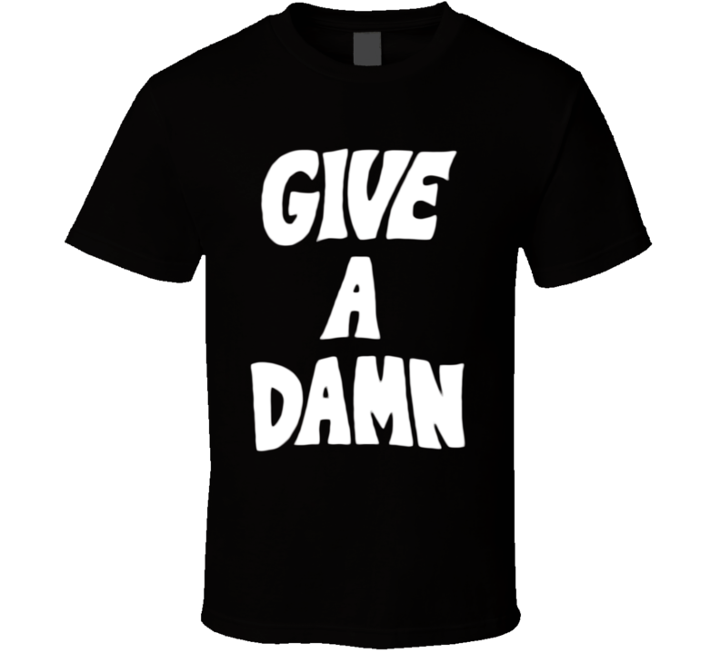 Give A Damn Alex Turner Arctic Monkeys Popular Glastonbury Concert Music Fan T Shirt