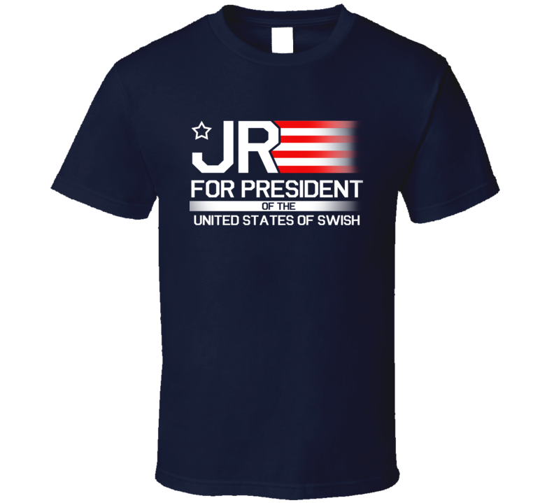 JR Smith For President Of the United States Of Swish Fun Cleveland Champion Basketball Graphic Cavs T Shirt