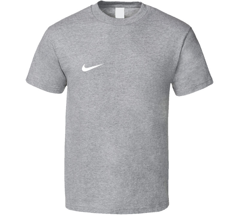 Little White Nike Fun Popular Sports Swoosh Graphic T Shirt