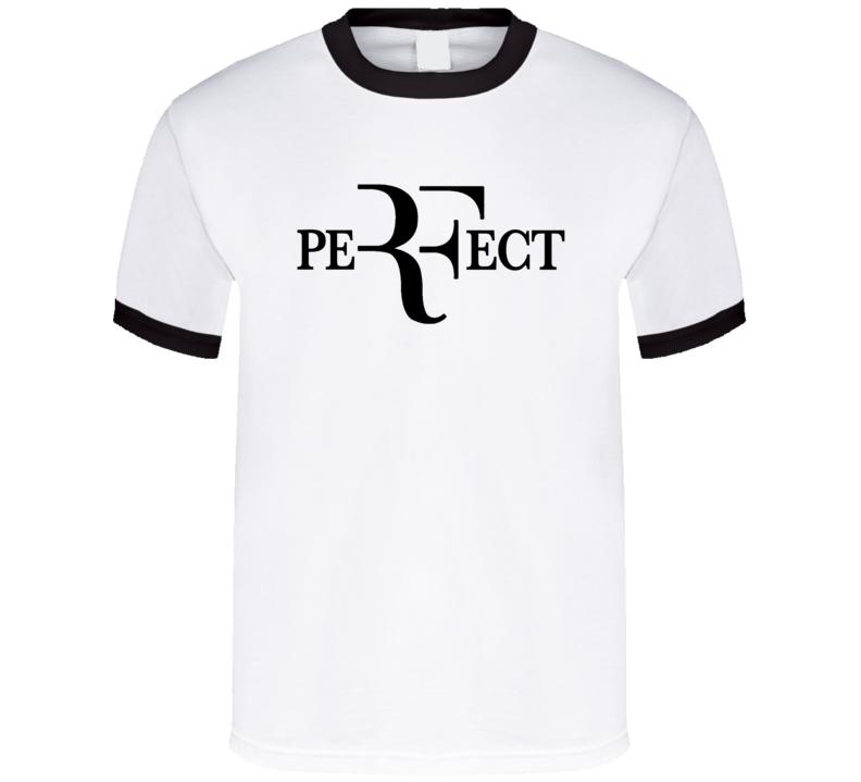 Perfect Roger Federer Popular Wimbledon US Open Tennis Champion Fun Graphic Sport Fan T Shirt