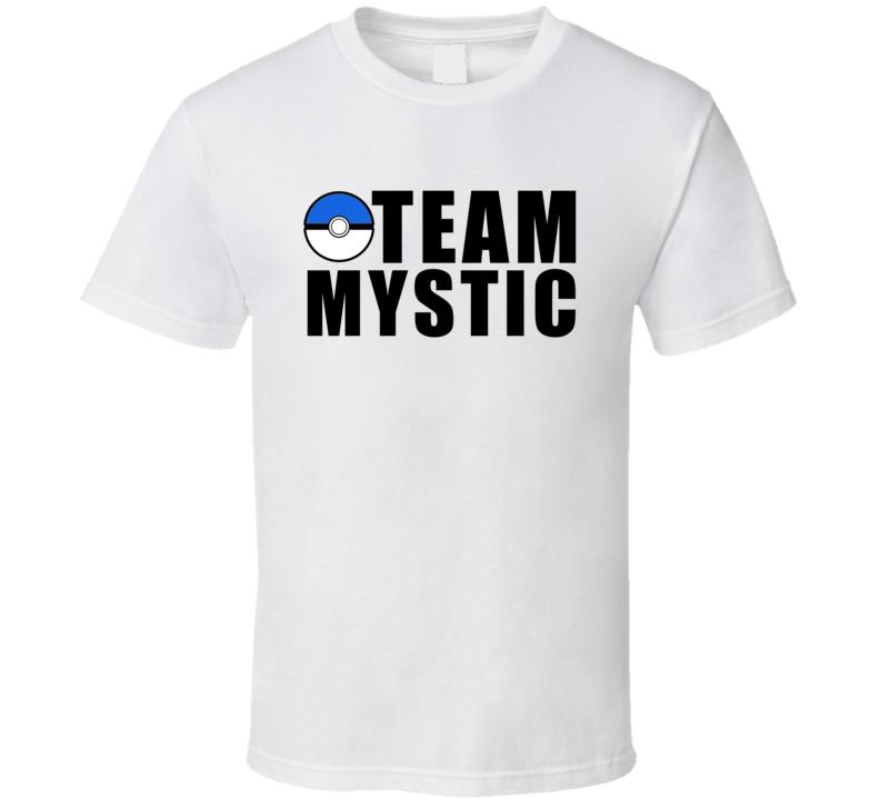 Team Mystic Pokemon Go Fun Graphic Game Apparel T Shirt