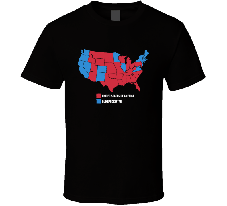 United States Of America Kid Rock Donald Trump President Supporter Funny Rude USA Graphic Tee Shirt