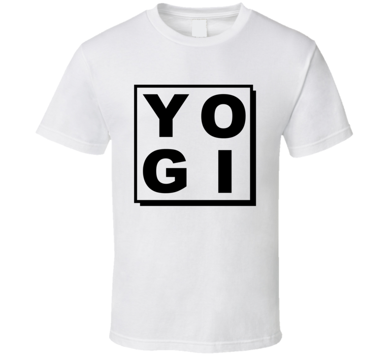 Yogi Fun Spiritual Yoga Lover Graphic T Shirt