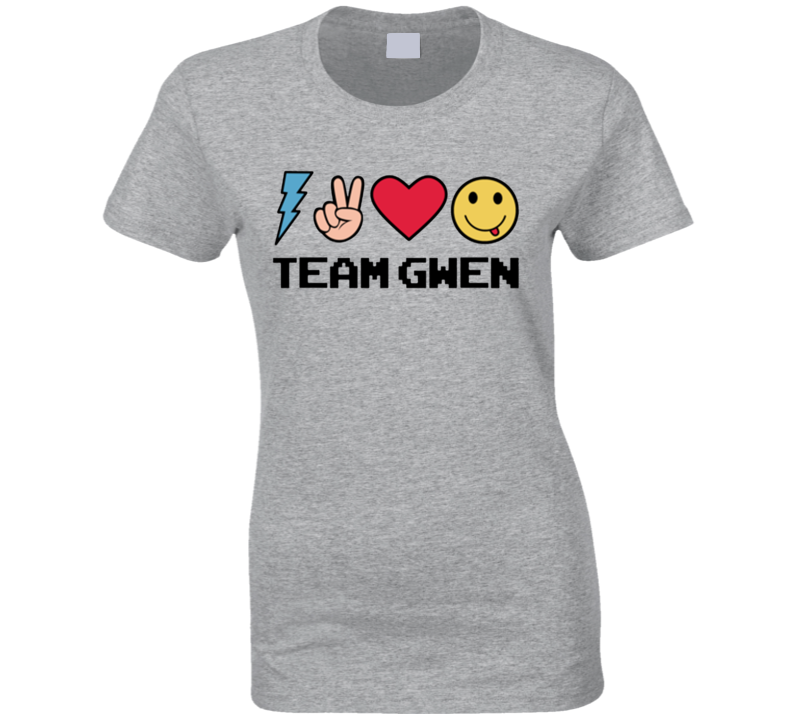 Team Gwen Stefani Fun The Voice Graphic Tee Popular TV Show Fan T Shirt
