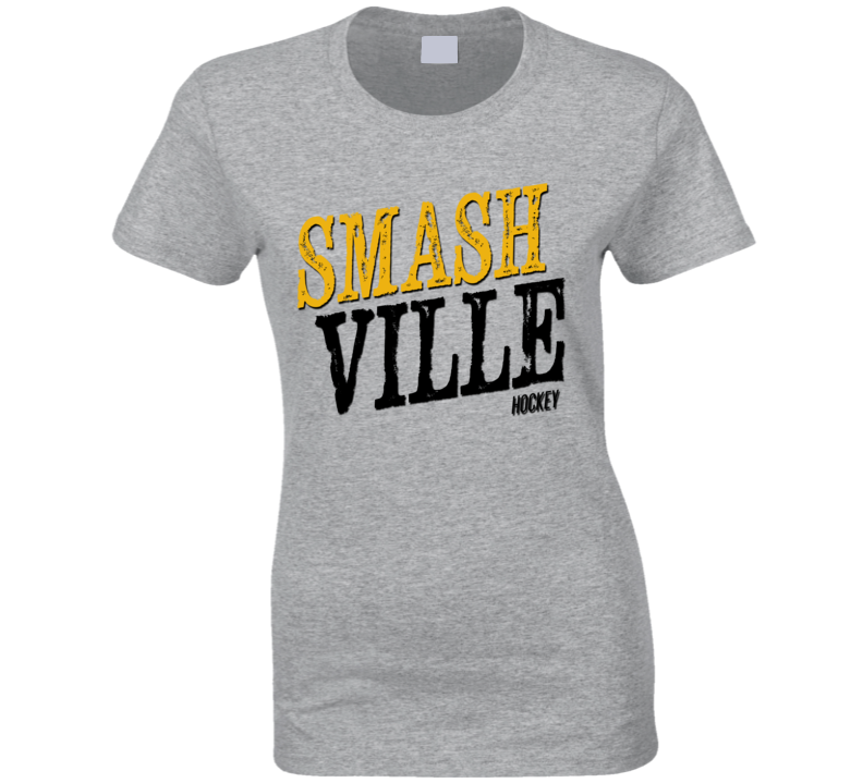 Smashville Hockey Stanley Cup Playoffs Nashville Texas Graphic Fan T Shirt