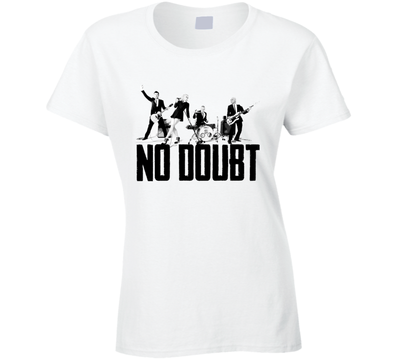 Vintage No Doubt Graphic Music Band T Shirt V Neck Hoodie