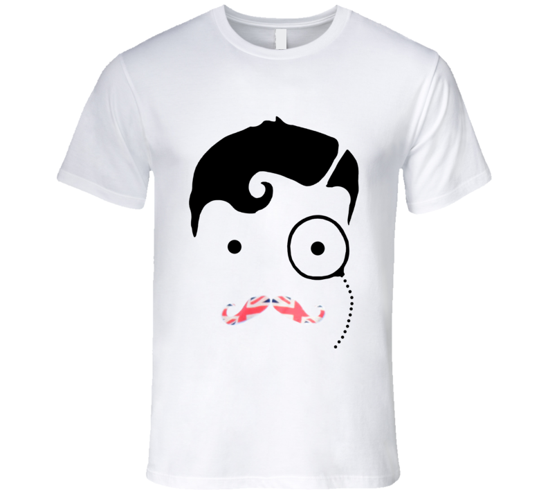 British Union Jack Monocle Proper Man Nathan Sykes Graphic Music T Shirt