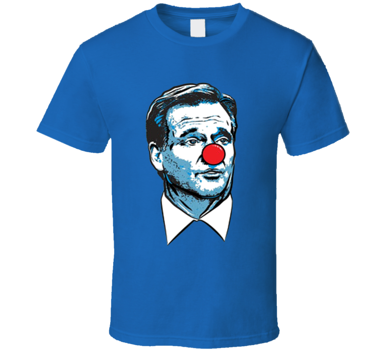 Roger Goodell Is A Clown Pats New England Football Matt Patricia Replica Graphic Sports T Shirt