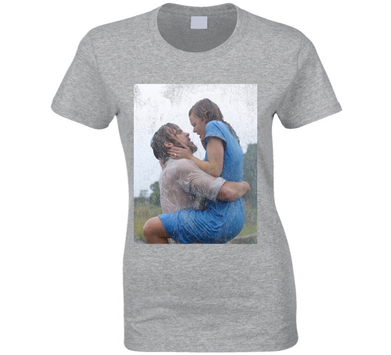 The Notebook Love Popular Iconic Noah And Allie Kiss Graphic Movie T Shirt