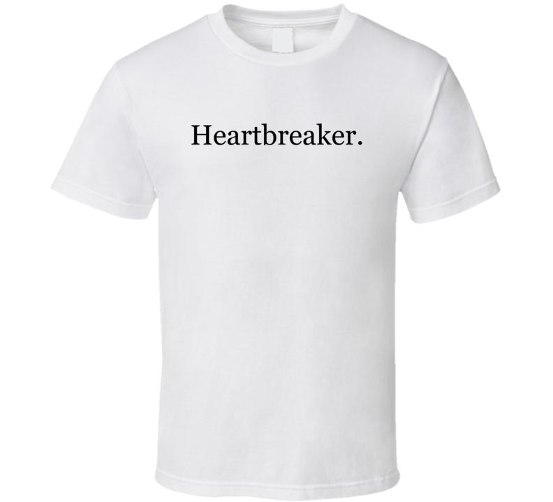 Heartbreaker Fun Popular Celebrity Blogger Graphic T Shirt